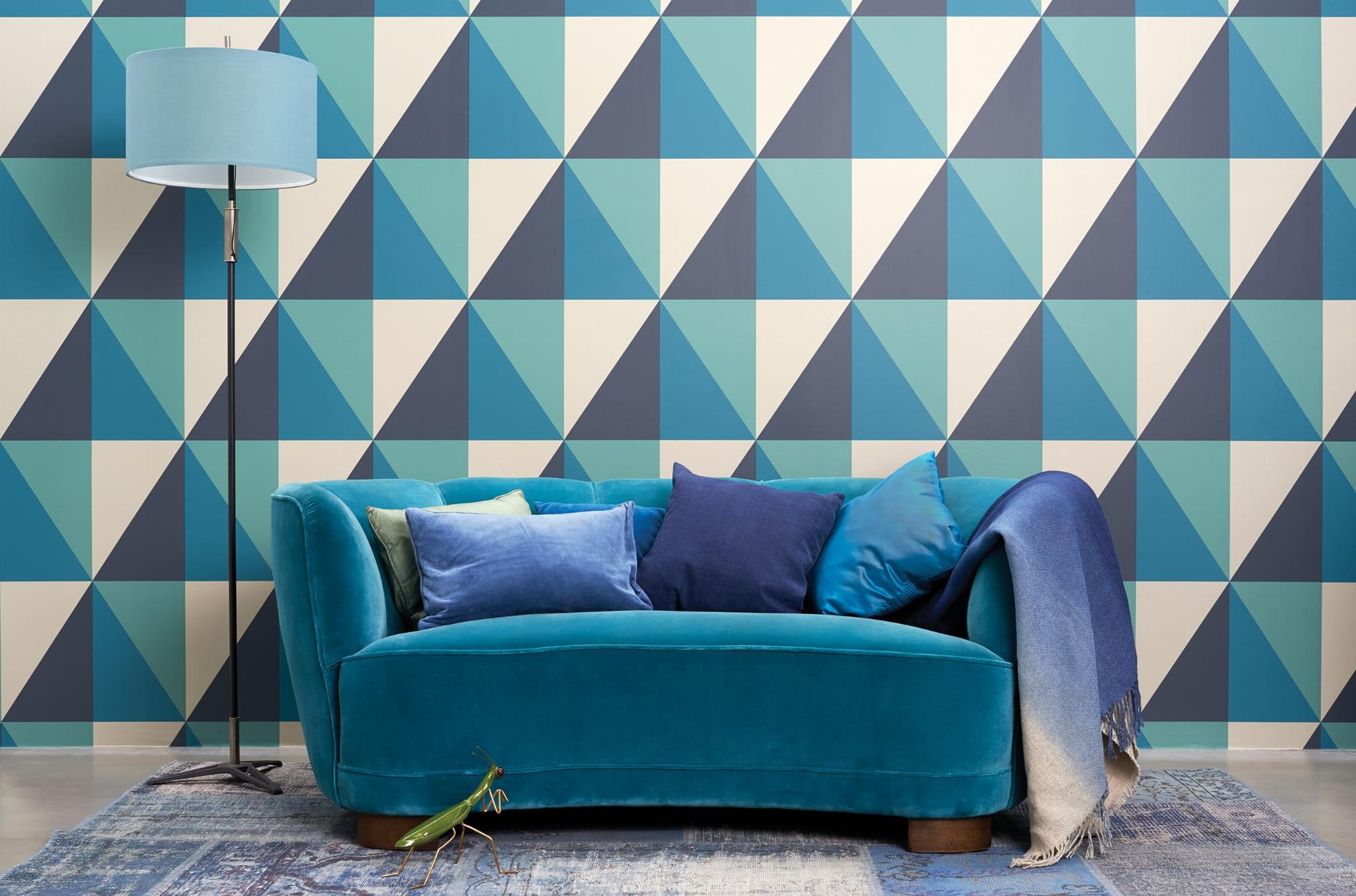 105 10041 tapeta geometric ii cole son bella arte ekskluzywne tapety cienne. Black Bedroom Furniture Sets. Home Design Ideas