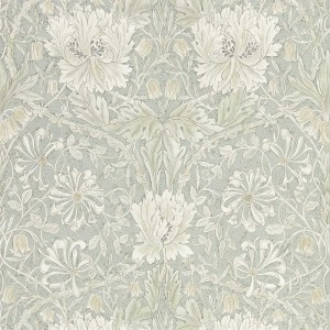 William Morris 216525 Pure Honeysuckle & Tulip