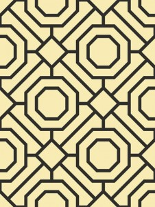 LA32200 tapeta Wallquest Madison Geometrics